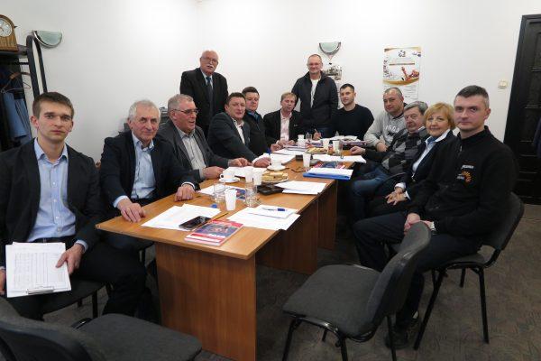 Posiedzenie zarządu PFS
